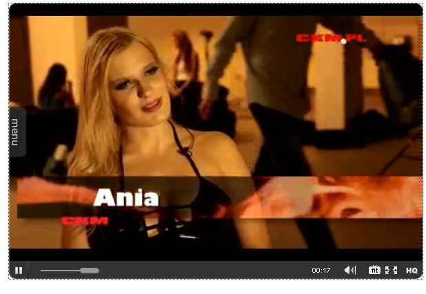 Anna Piechowiak z Top Model topless w CKM (FOTO)