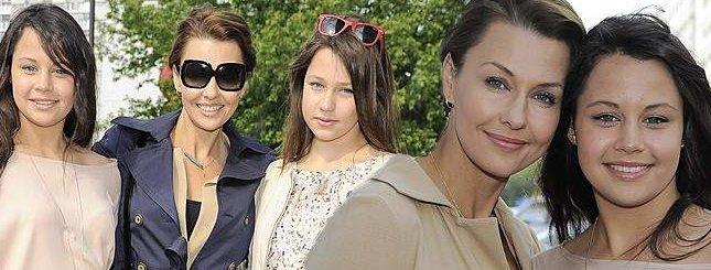 Anna Popek lansuje córki na salonach (FOTO)