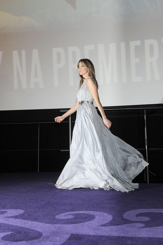 Anna Przybylska na premierze Sępa (FOTO)