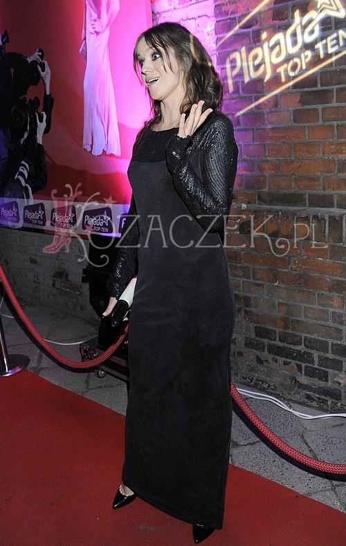 Anna Przybylska w imprezowym nastroju (FOTO)