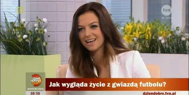 Dziewczyna Lewandowskiego, Anna Stachurska, miała wypadek