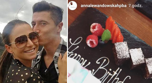 Anna Lewandowska w seksownej sukience i szpilkach dziękuje za życzenia