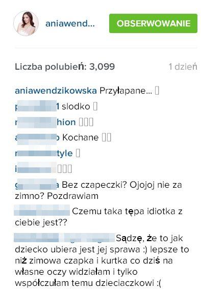 Zdjęcie na Instagramie Wendzikowskiej wywowało kontrowersje