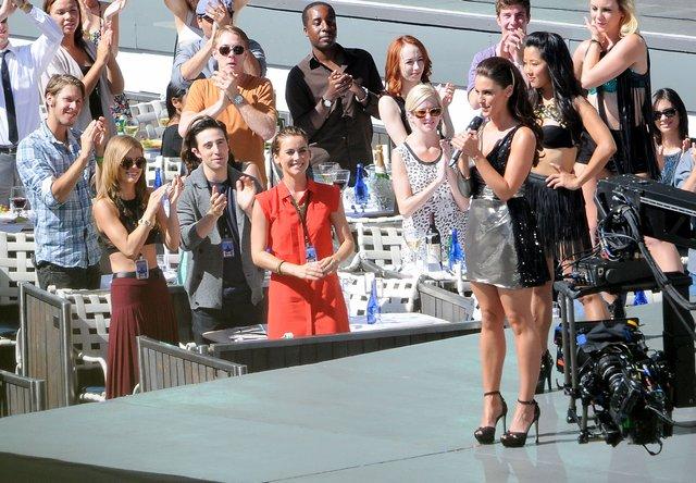 AnnaLynne na planie serialu 90210 (FOTO)
