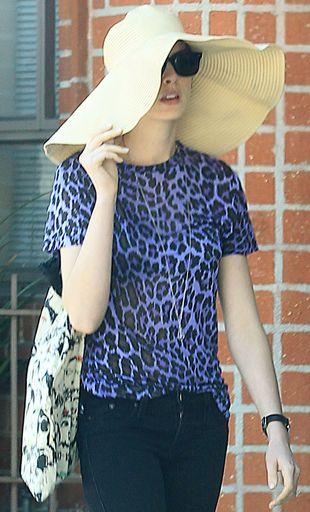 Anne Hathaway nie opowiada o tym, jakim sposobem schudła