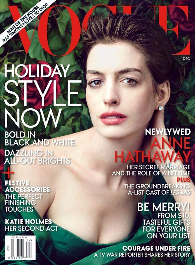 Anne Hathaway w Vogue (FOTO)