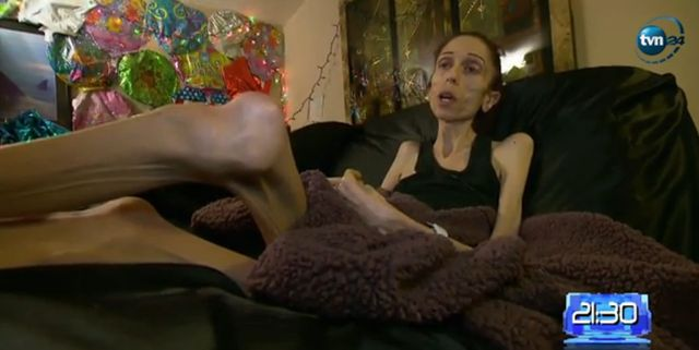 Rachael Farrokh ma 37 lat i wa�y 20 kilogram�w
