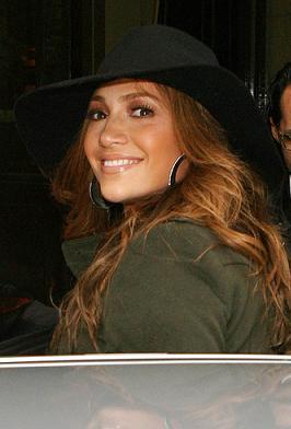 Jennifer Lopez z mężem na mieście