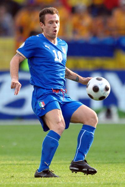 Euro 2012: Cassano ostro o gejach w swojej dru�ynie (FOTO)