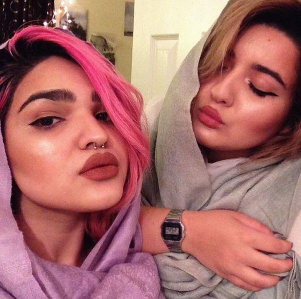 Mina i Dounia - poznajcie Antykardashianki (Instagram)