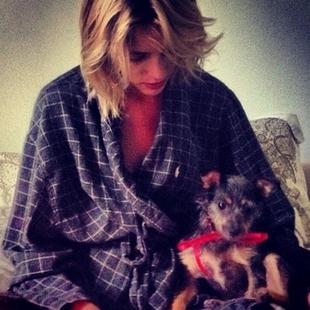 Anja Rubik dostała w prezencie szczeniaka (FOTO)