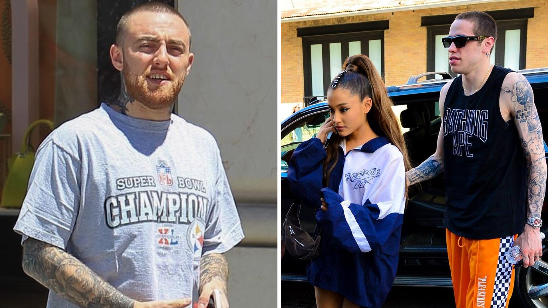 Pete Davidson wspiera Arianę Grande po śmierci jej byłego chłopaka, Maca Millera