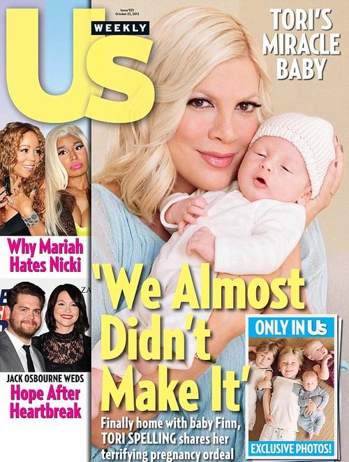 Tori Speling wyznaje: prawie umarłam podczas porodu!