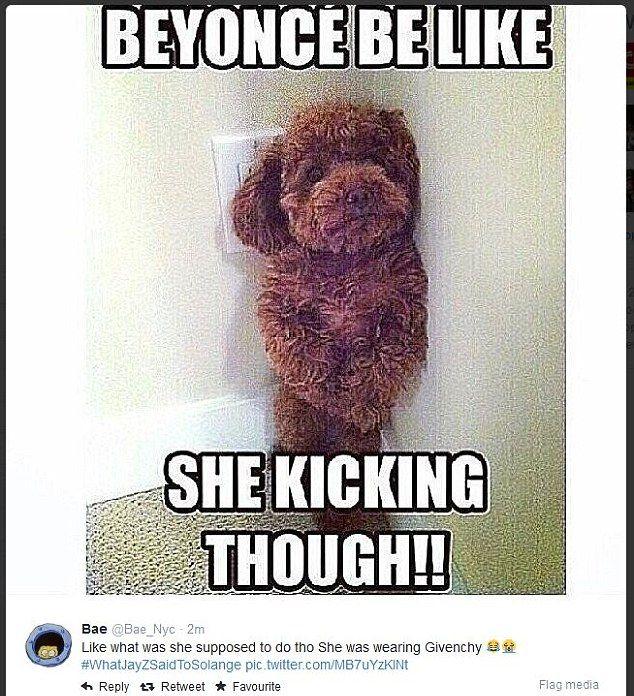 Internet śmieje się z bójki Solange i Jaya Z (MEMY)