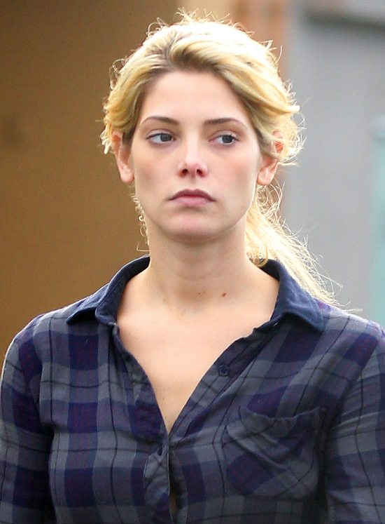 Ashley Greene bez makijażu (FOTO)