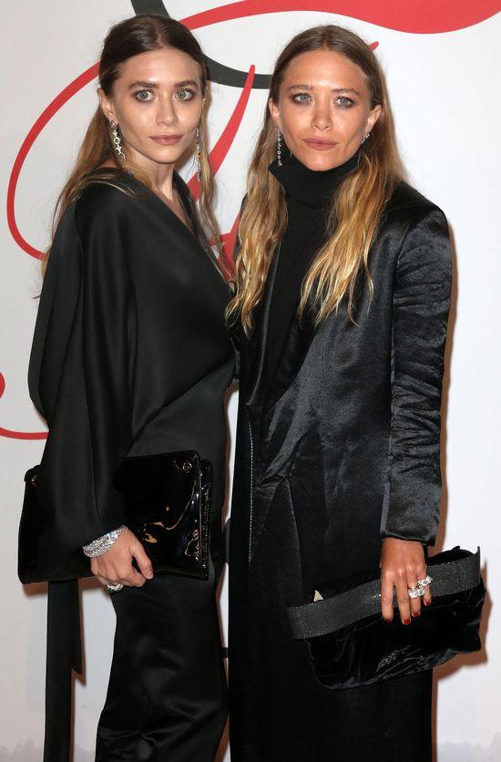 Siostry Olsen straszą na salonach (FOTO)