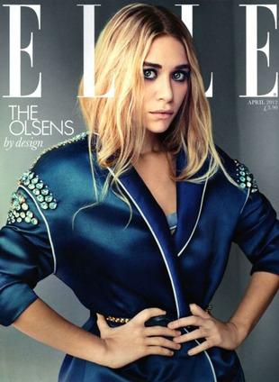 Siostry Olsen na okładkach brytyjskiego Elle (FOTO)