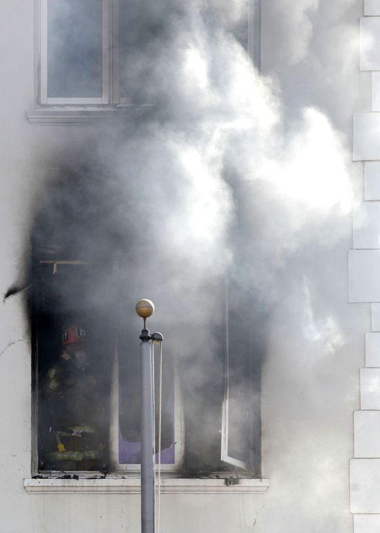 Dom aktorki Zmierzchu spalił się przez lufkę z crackiem