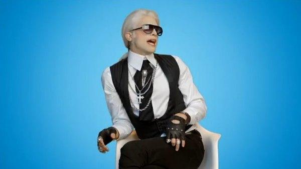 Oto Darl. Poznajecie, kto kopiuje Karla Lagerfelda? [VIDEO]