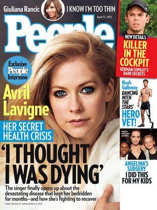 Avril Lavigne: Przez pięć miesięcy byłam przykuta do łóżka
