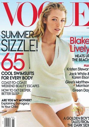 Kolejne zdjęcia Blake Lively dla Vogue (FOTO)