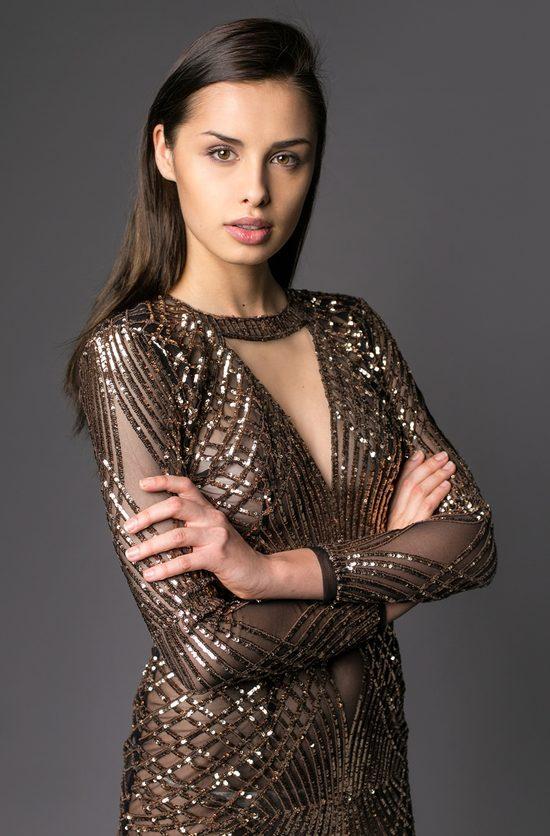Weronika Szmajdzińska w finale Miss Universe 2015