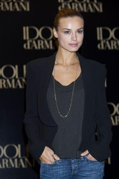 Kasia Smutniak jako twarz perfum Idole d'Armani - 2009 r.
