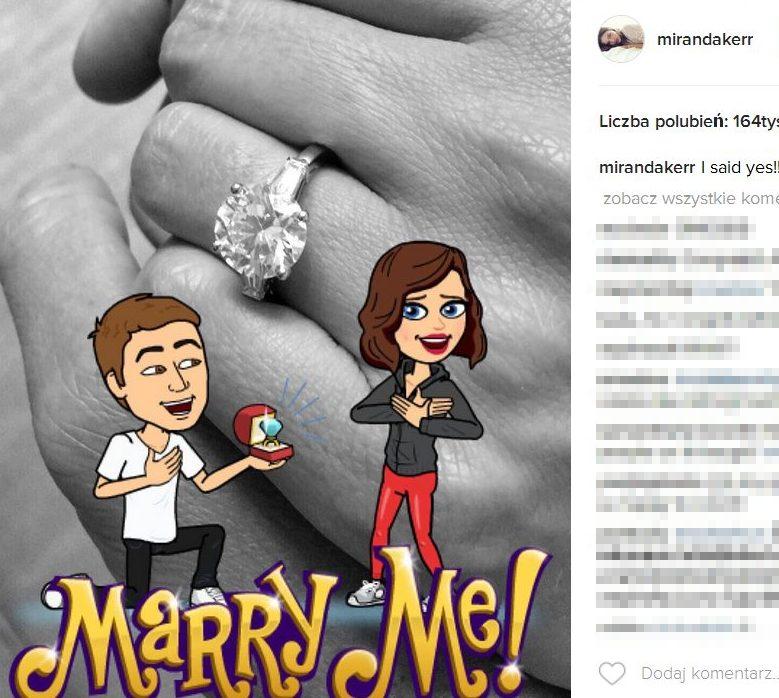 Miranda Kerr i Evan Spiegel zaręczyli się!