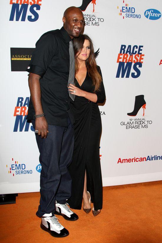 Lamar Odom i Khloe Kardashian razem na salonach