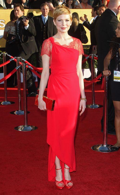 Michelle Williams na czerwonym dywanie