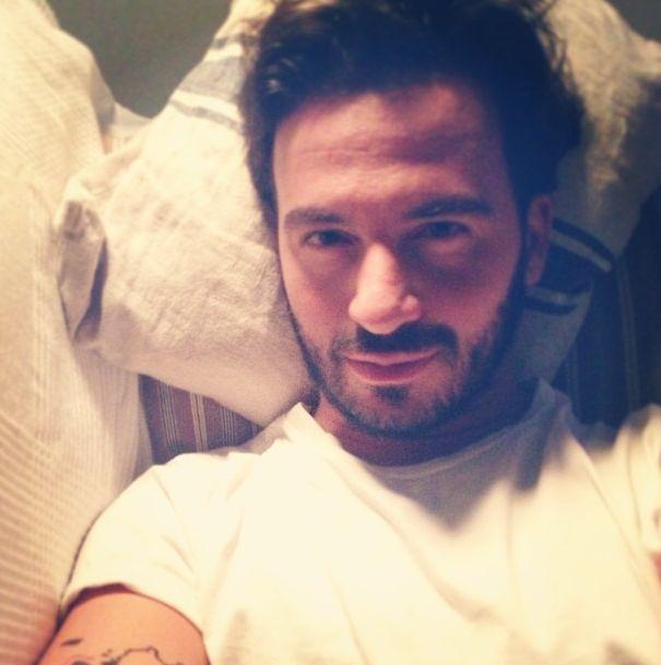 Stefano Terrazzino, sweet focia w pościeli