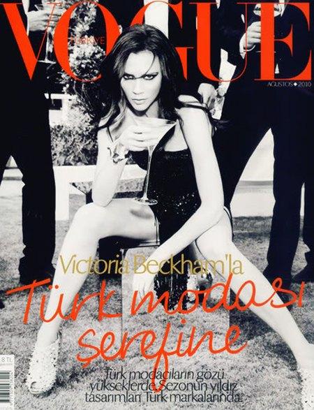 Victoria Beckham na okładkach