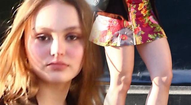 Lily Rose Depp złapała dodatkowe kilogramy