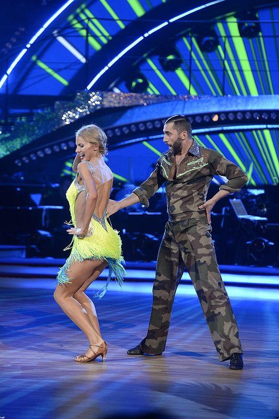 Joanna Moro i Rafał Maserak - czacza w tańcu z gwiazdami