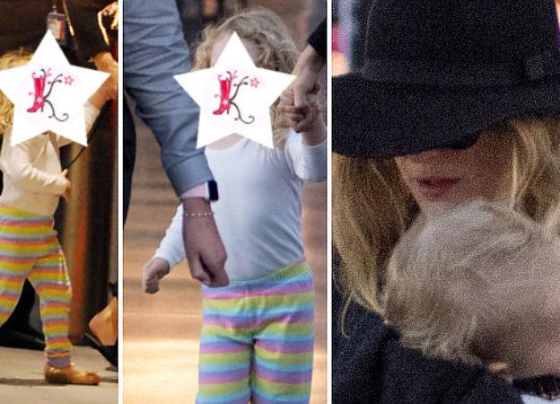 Blake Lively z córeczkami Jamese i Ines lotnisku (ZDJĘCIA)