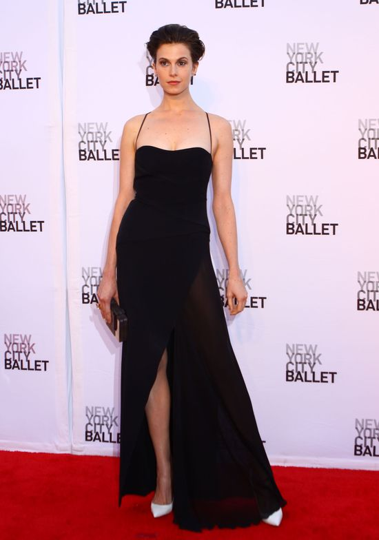 Gwiazdy na rozpoczęciu sezonu New York City Ballet – jesień 2013