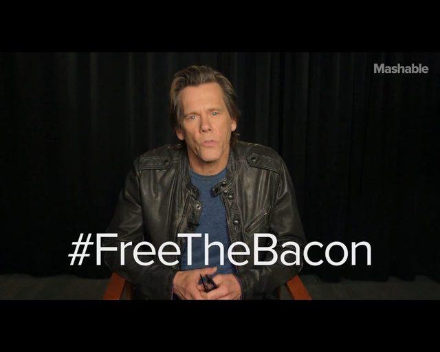 Kevin Bacon pokazał penisa