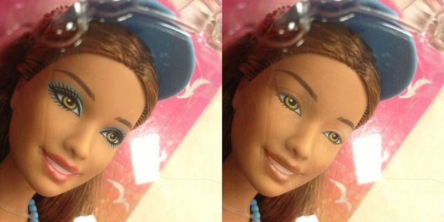 Jak wygląda Barbie bez makijażu? (FOTO)