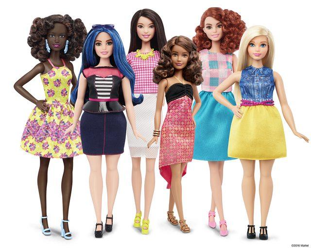 Koniec terroru chudej Barbie w jednym rozmiarze (FOTO)