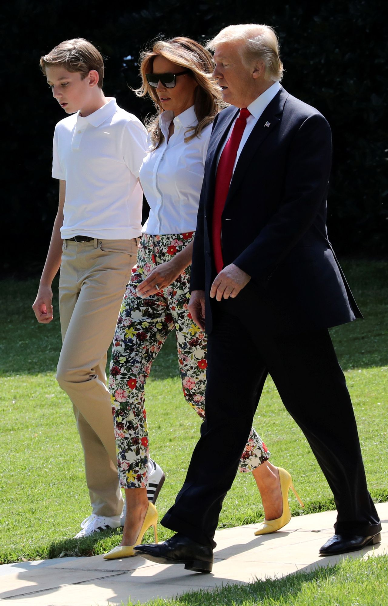 Jak dziś wygląda Barron Trump? Bardzo się zmienił! (ZDJĘCIA)