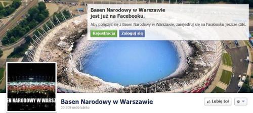 Stadion Narodowy ochrzczony Basenem Narodowym