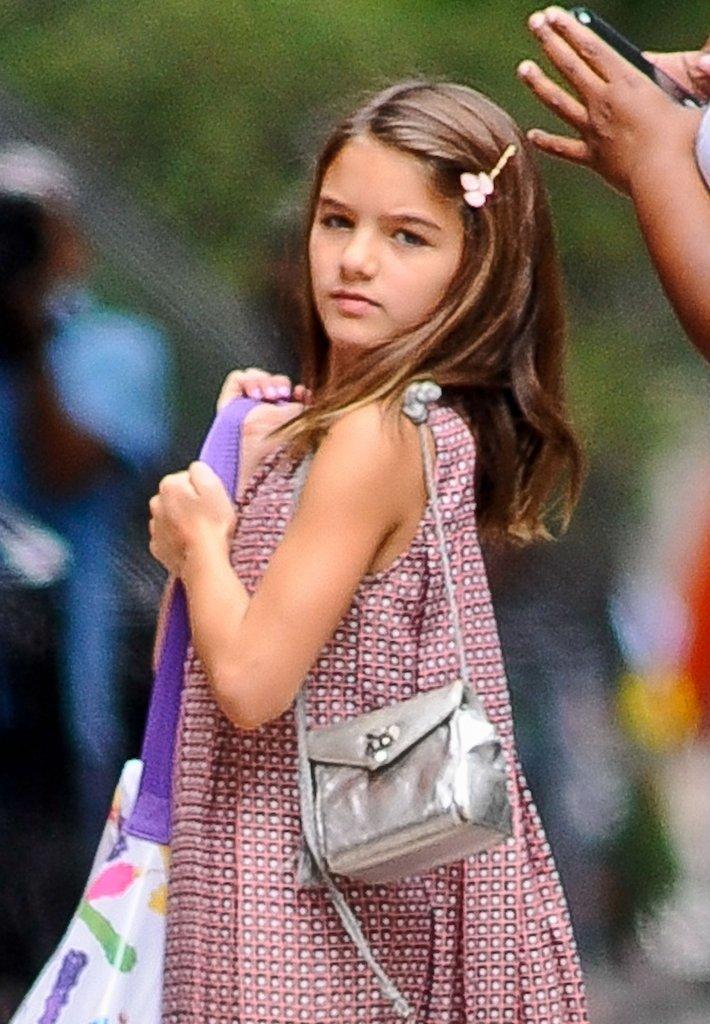 Suri Cruise, córka Katie Holmes i Toma Cruise'a