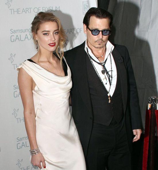 Johhny Depp, Amber Heard