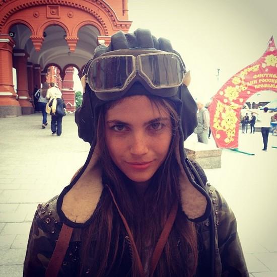 Weronika Rosati w Rosji (FOTO)