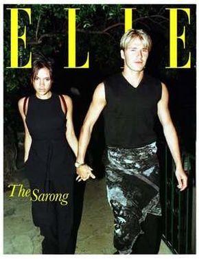 Seksowny i nagi David Beckham na okładce Elle?