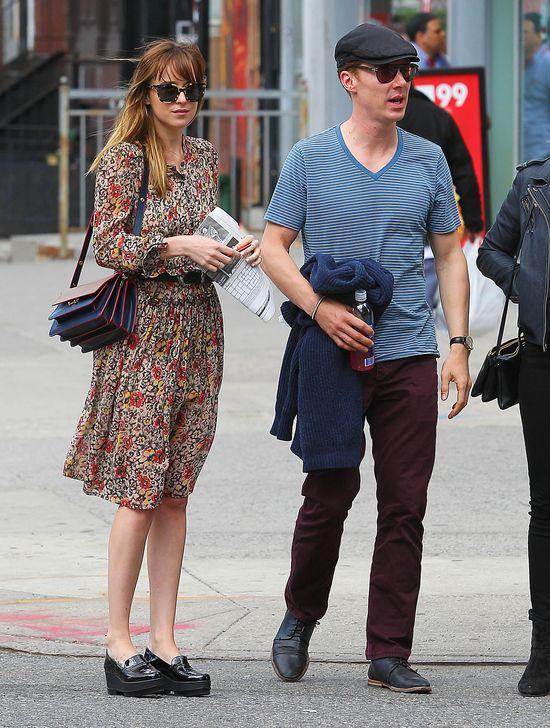 Co łączy Dakotę Johnson i Benedicta Cumberbatcha? (FOTO)