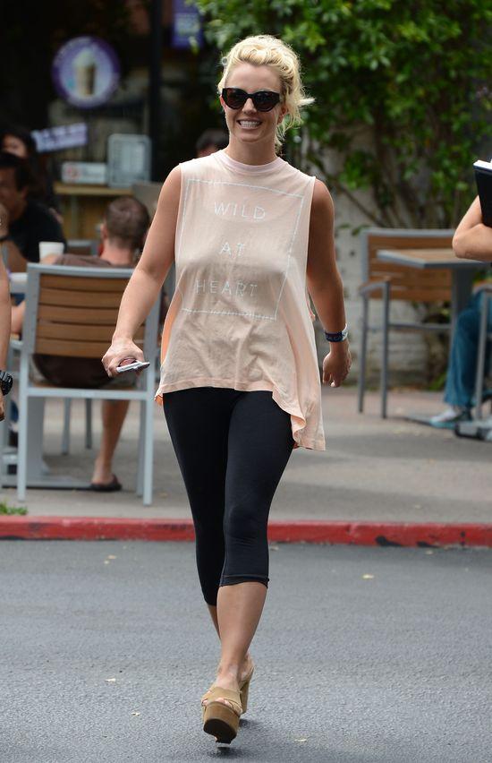 Britney Spears bez stanika  (FOTO)