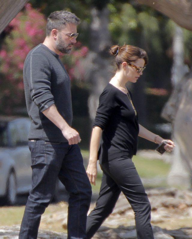 Affleck i Garner - widać, że związek się wypalił? (FOTO)