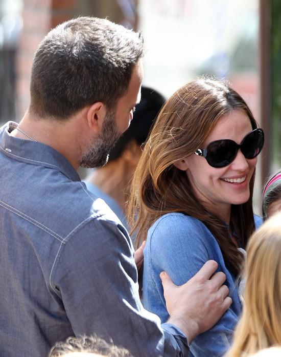 Chwila czułości u Bena Afflecka i Jennifer Garner (FOTO)