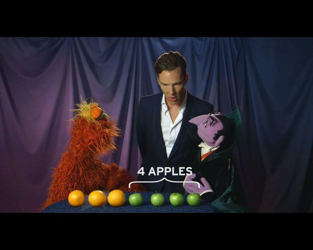 Benedict Cumberbatch wpadł na Ulicę Sezamkową [VIDEO]